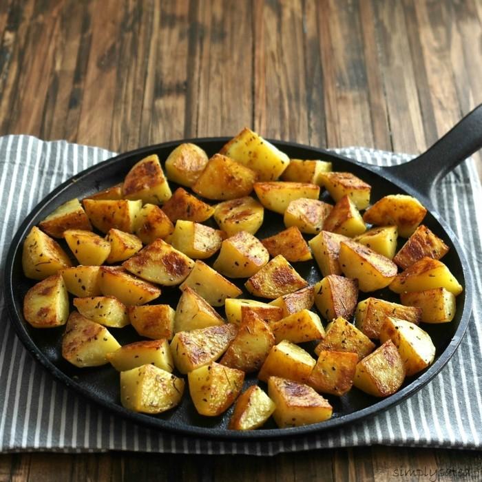 wurzelgemüse kartoffel gebacken