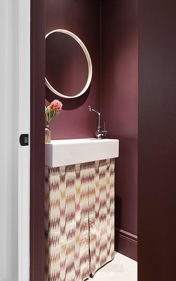 18 gem tliche wandfarben ideen die durch den herbst - Wandfarbe purpur ...