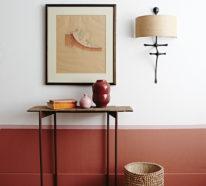 Gemütliche Wandfarben Ideen, die durch den Herbst inspiriert wurden