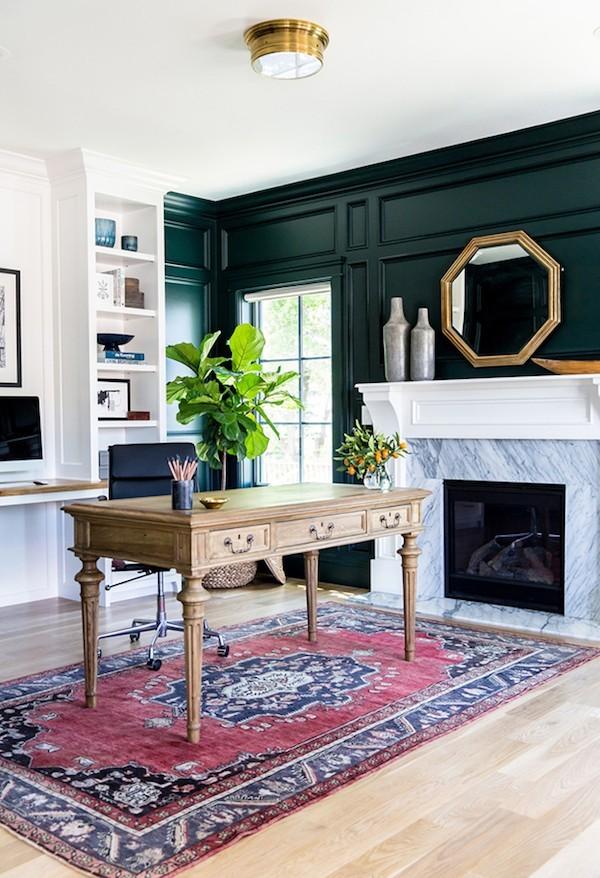 18 gem tliche wandfarben ideen die durch den herbst. Black Bedroom Furniture Sets. Home Design Ideas