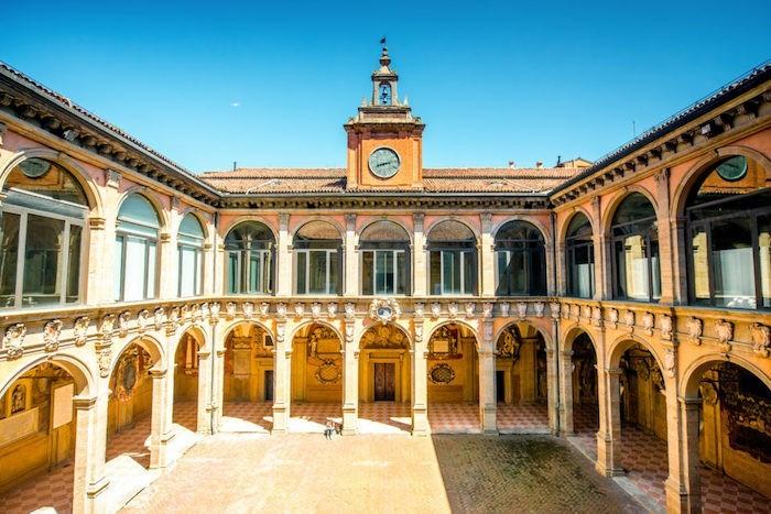 Bologna älteste Universität Bibliothek Europas