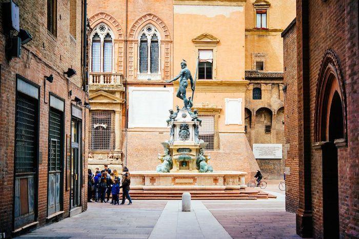 Bologna Piazza Maggiore alter Stadtteil
