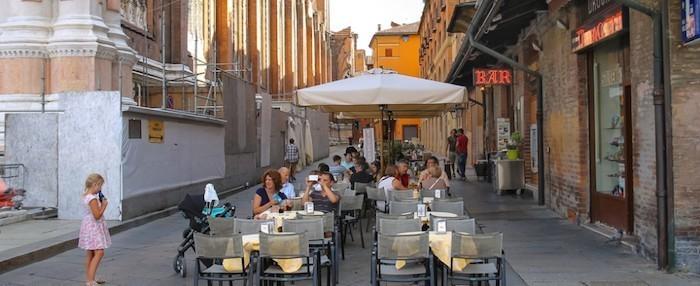 Cafe Bologna Urlaub im September