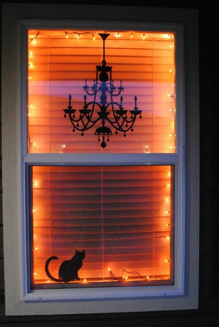 Fensterbilder basteln mit kindern einfach
