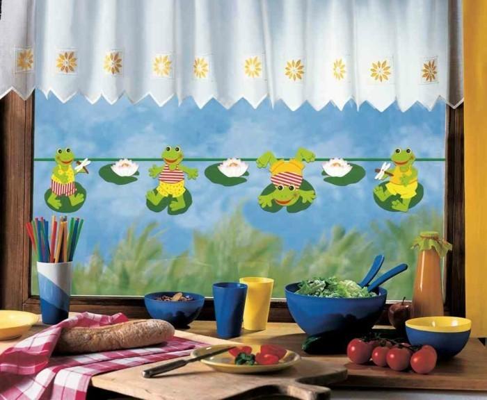 Fensterbilder basteln mit kindern kinderzimmer deko fenster