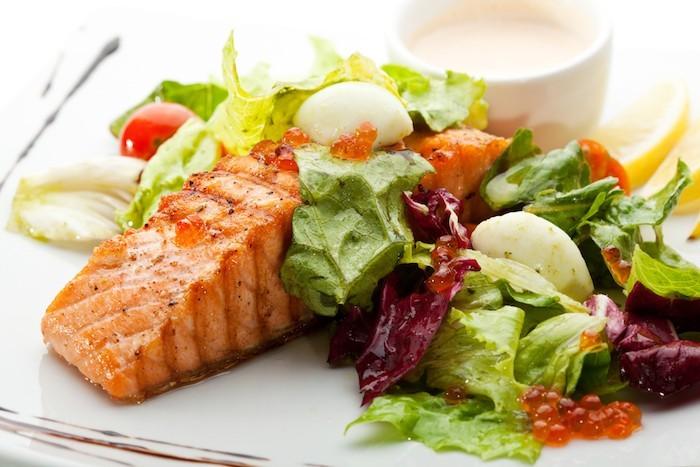 Fisch Mittagessen