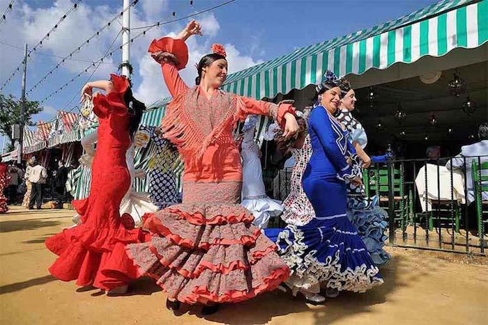 Flamenco Tanz Frauen
