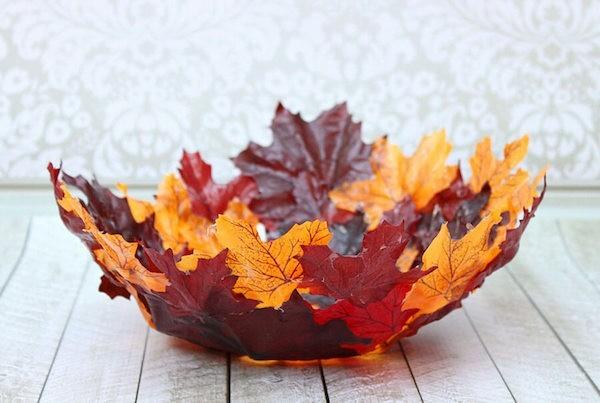 Herbstdeko Herbstblätter