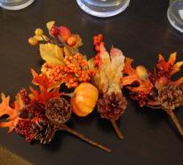 Herbstdeko, die Wärme und Gemütlichkeit ausstrahlt