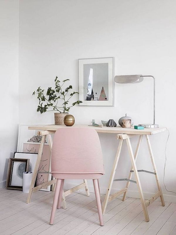 Minimalistisches Home Office ideen