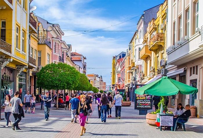 Plovdiv Südosteuropa Stadtmitte
