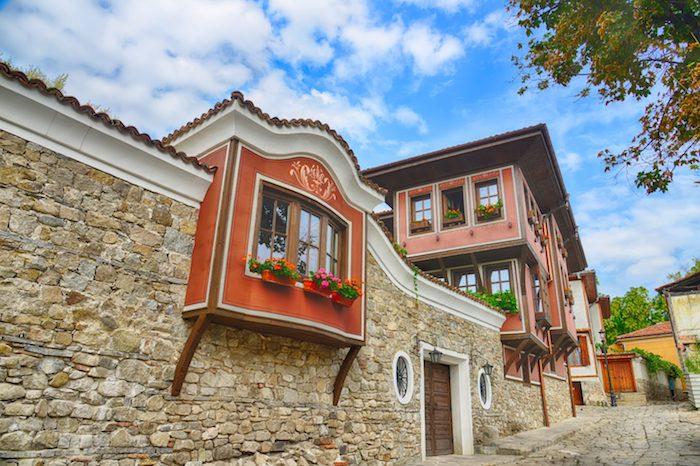 Plovdiv Stadthäuser