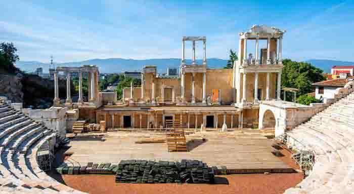 Plovdiv antikes Theater