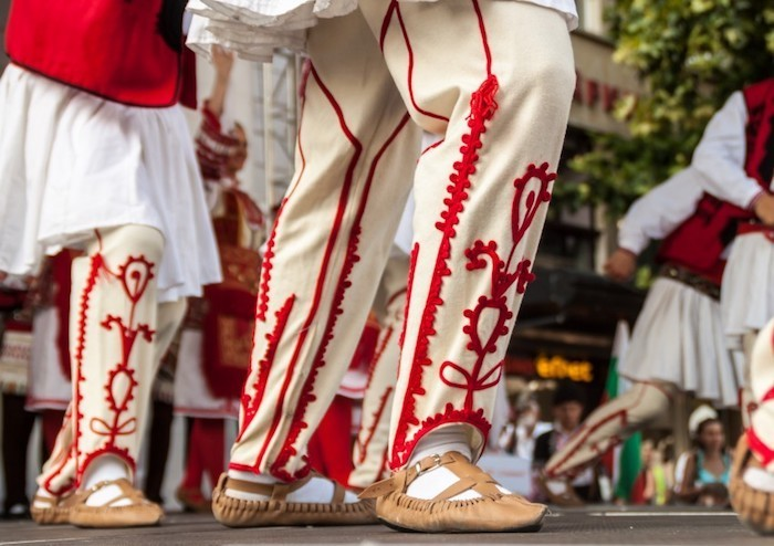 Südosteuropa Plovdiv bulgarische Volkstänze