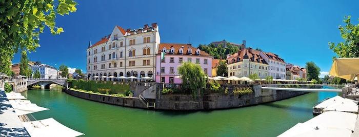 Südosteuropa Urlaubsreise Ljubljana