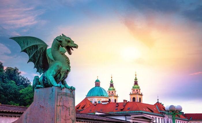 Südosteuropa im Fokus Ljubljana Drachenbrücke