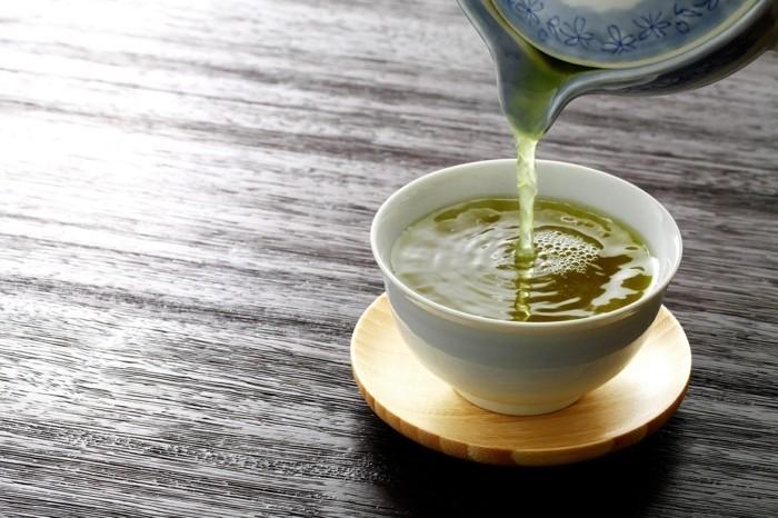 Tee Tasse grüner Tee Schlankmacher