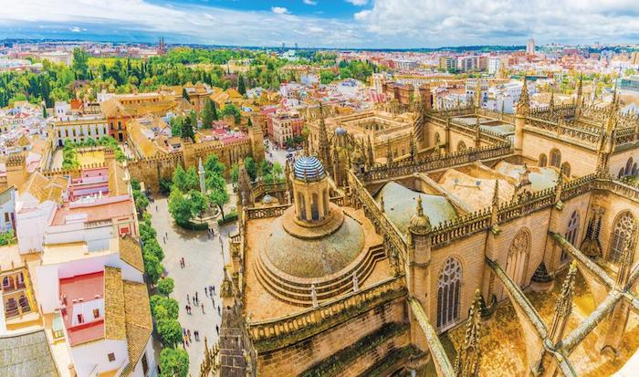 Urlaub im September Sevilla Kathedrale