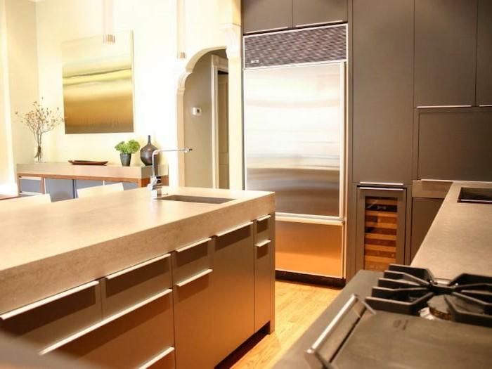 arbeitsplatte küche passende materialien auswählen