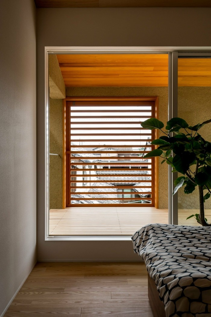 Moderne Architektur - Aussicht aus dem Elternschlafzimmer