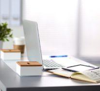 Schreibtisch im Fokus – wie kann man seinen Arbeitsplatz aufräumen