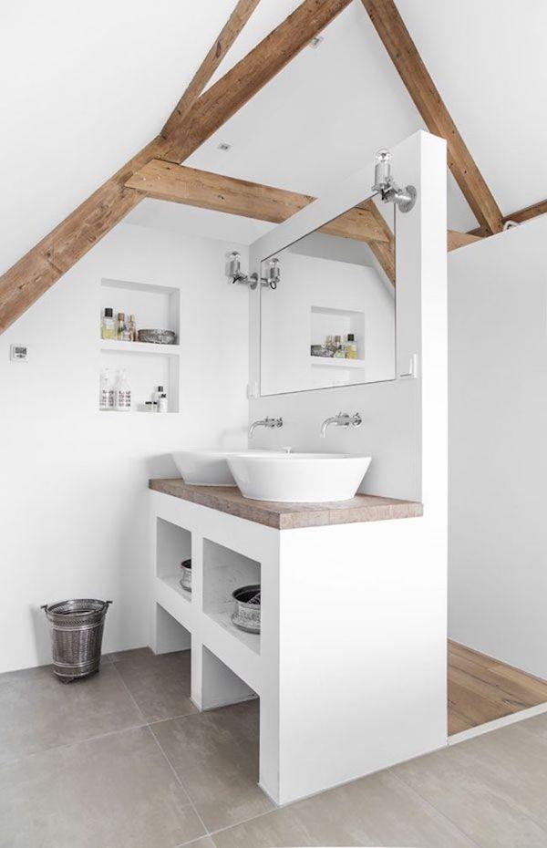 badezimmer dachschräge designs