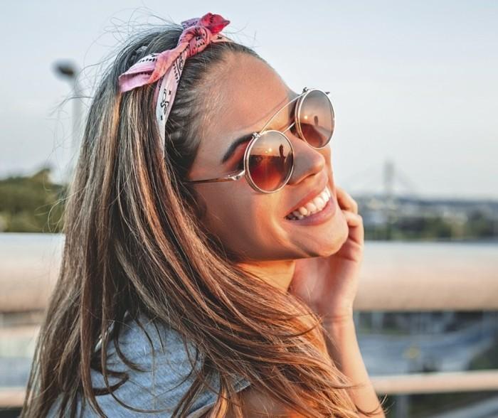 bandana binden ideen für sommerliche frisuren