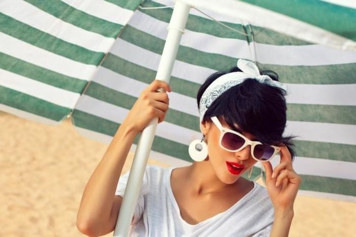 bandana binden sommerlichen look