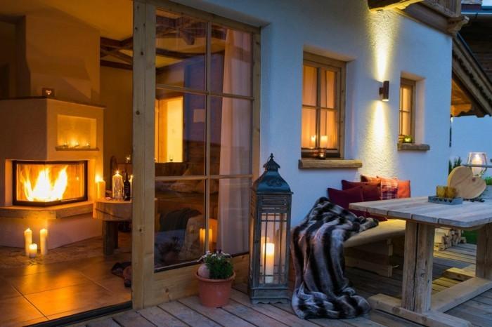 beleuchtung wohnzimmer indirekte beleuchtung helle flecken