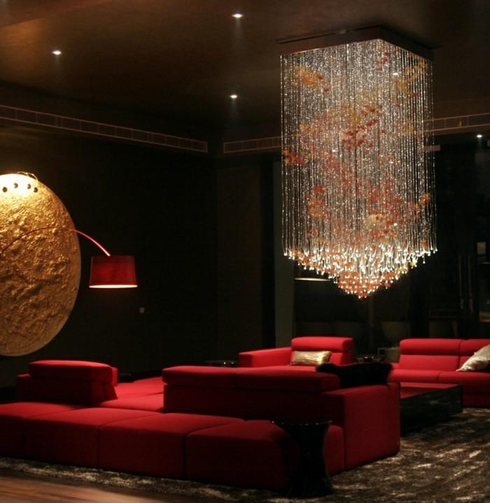beleuchtung wohnzimmer indirekte beleuchtung spot