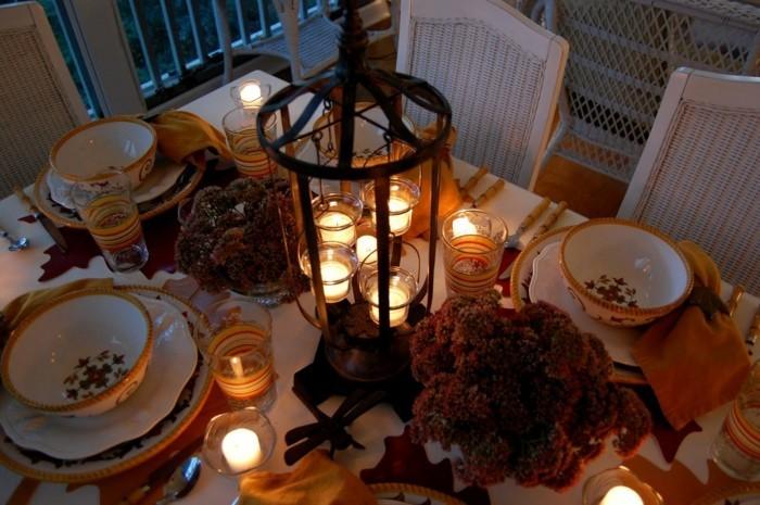 beleuchtung wohnzimmer indirekte beleuchtung tischdeko herbst und beleuchtung