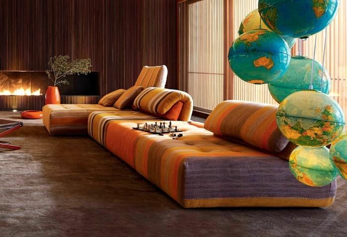 beleuchtung wohnzimmer indirekte beleuchtung warm und gemuetlich