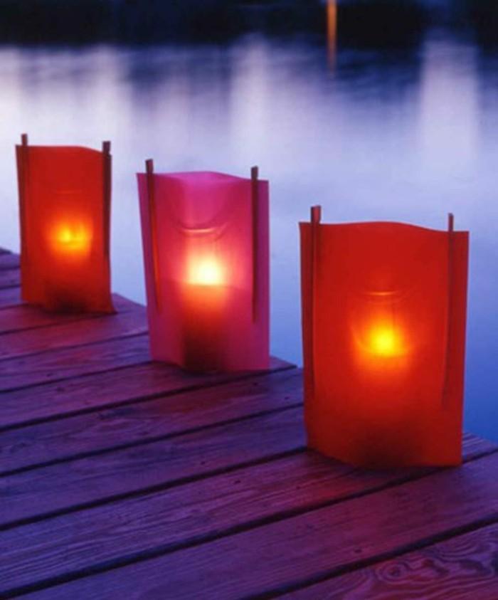 beleuchtung wohnzimmer indirekte beleuchtung windlichter basteln