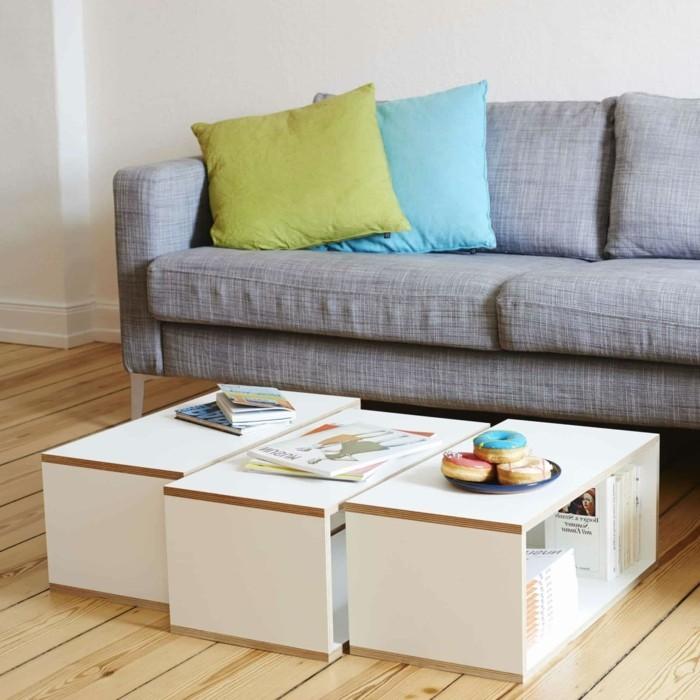 couchtische funktionale lösung für den wohnzimmertisch