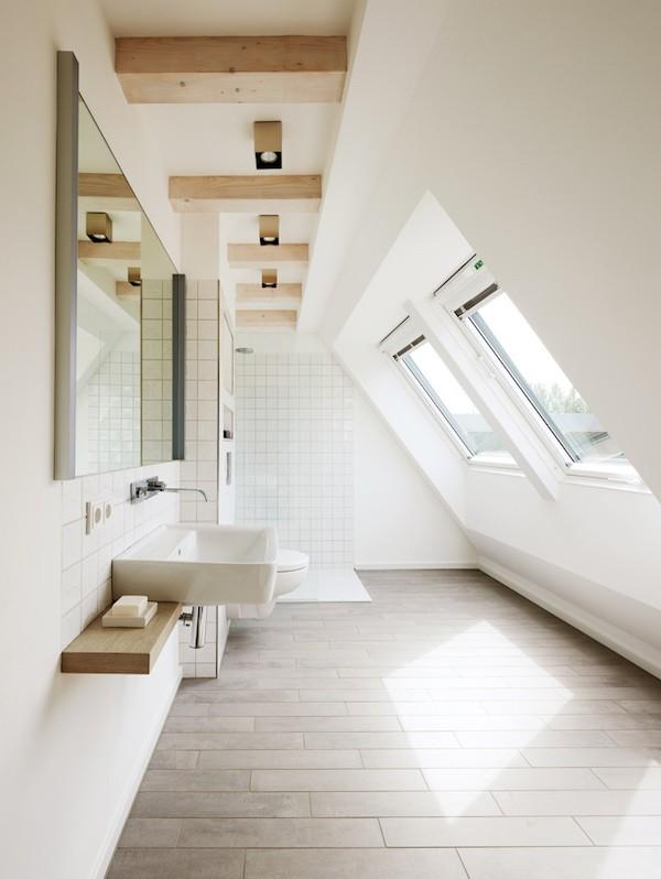 Dachschräge Praktische Badezimmer Mit Dachschräge U2013 Die Aktuellsten Designs  ...
