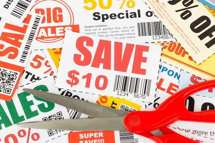 geld sparen mit coupons