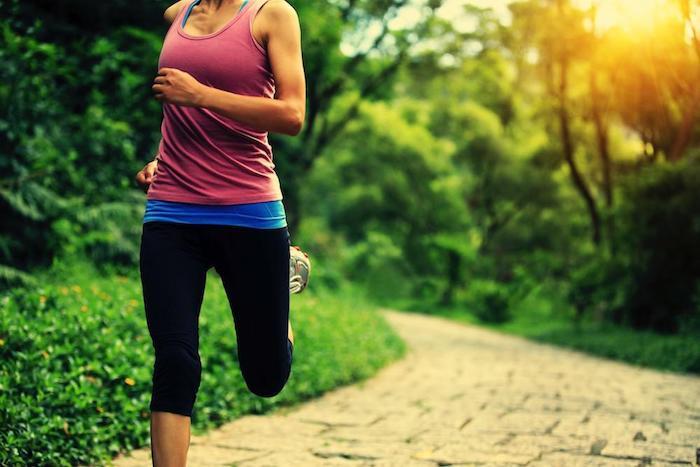 gesund abnehmen Joggen