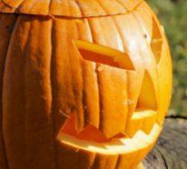 Einfache Halloween Bastelideen mit einem delikaten Gruseleffekt