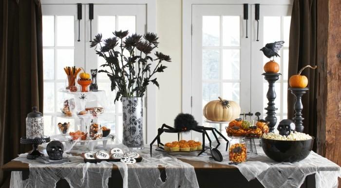 halloween deko ideen für den festlichen tisch