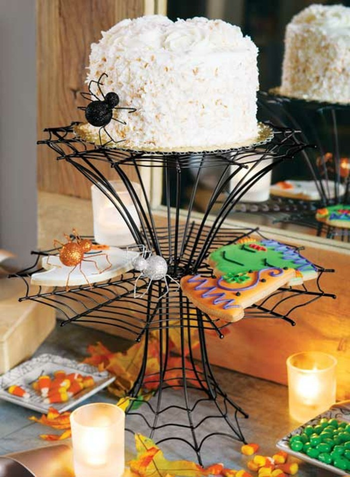 halloween deko leckereien für die halloween tafel