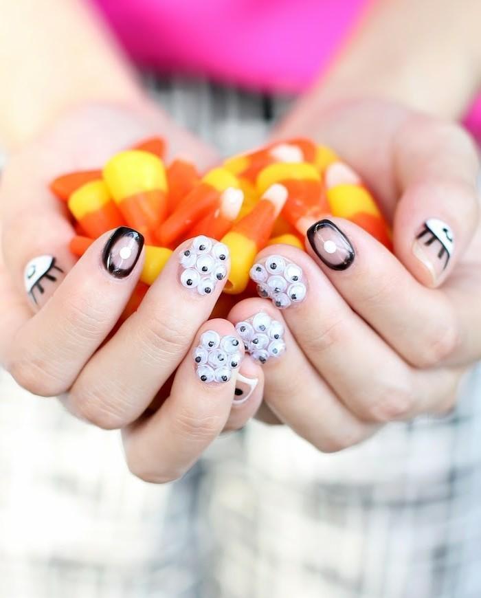 halloween ideen frische idee für die halloween maniküre