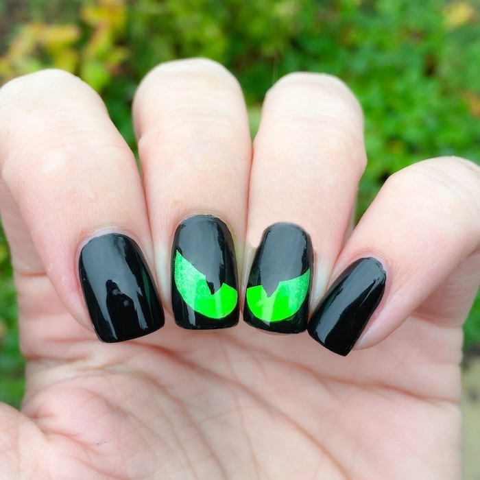 halloween ideen originelles nageldesign zum halloween