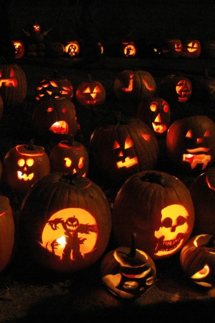 halloween kürbis schnitzvorlageböse kürbislaterne basteln duester