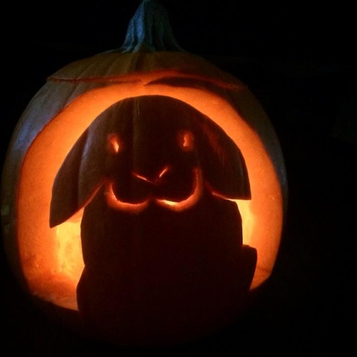 halloween kürbis schnitzvorlageböse kürbislaterne basteln kürbis gesicht