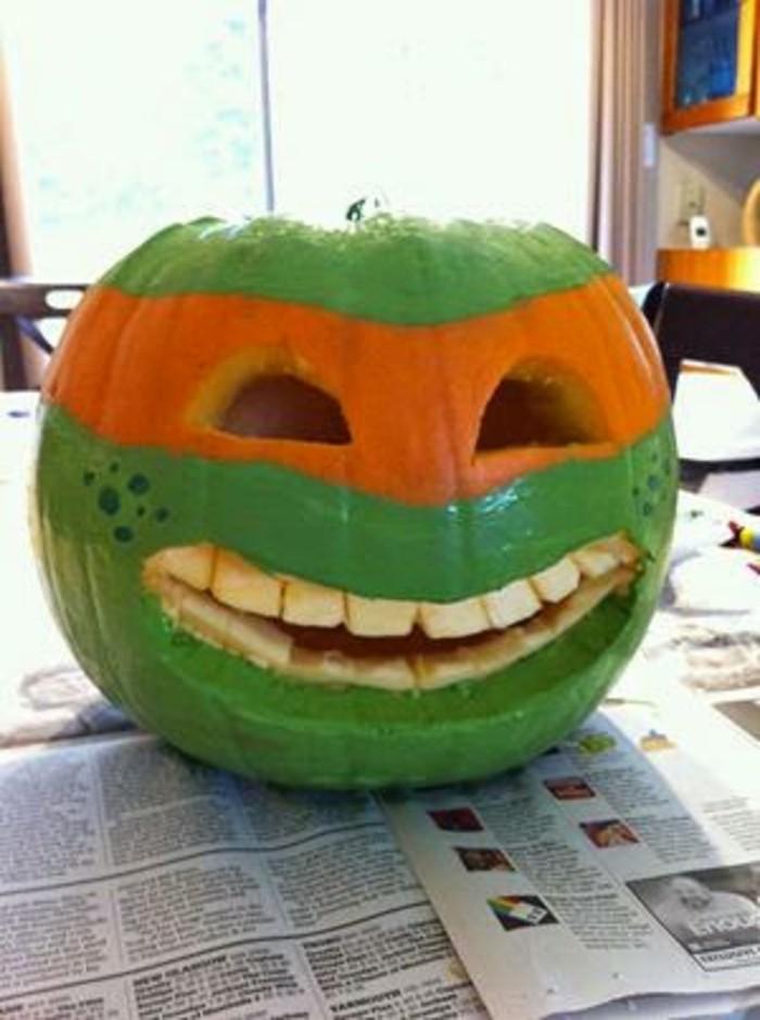 halloween kürbis schnitzvorlageböse kürbislaterne basteln mit kindern kürbis gesicht