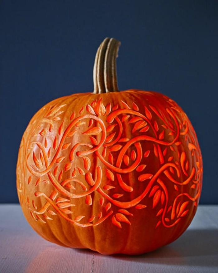 halloween kürbis schnitzvorlageböse kürbislaterne basteln ornamentierung