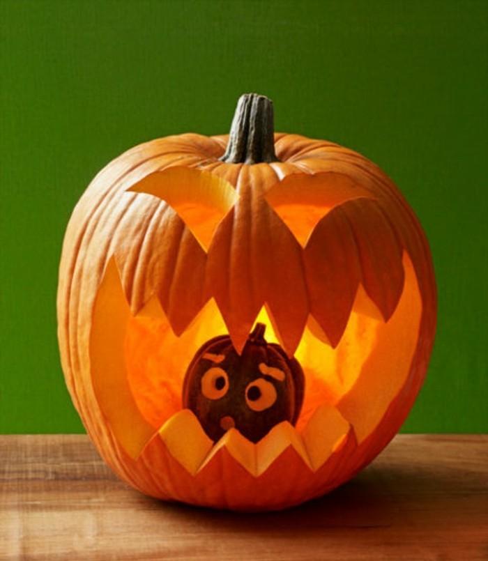 halloween kürbis schnitzvorlageböse kürbislaterne basteln schreck