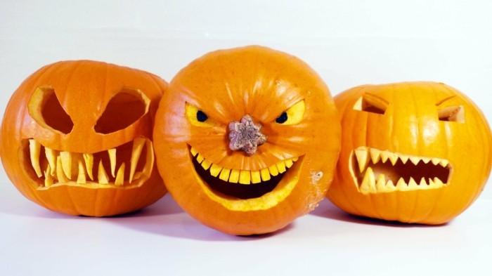 halloween kürbis schnitzvorlageböse kürbislaterne basteln