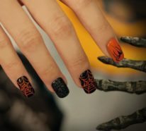 Halloween Nägel – 53 schaurige Nageldesigns für die Gruselparty