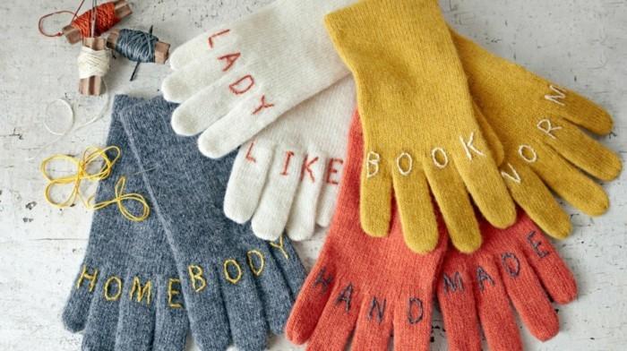 handschuhe hand made herbstlich